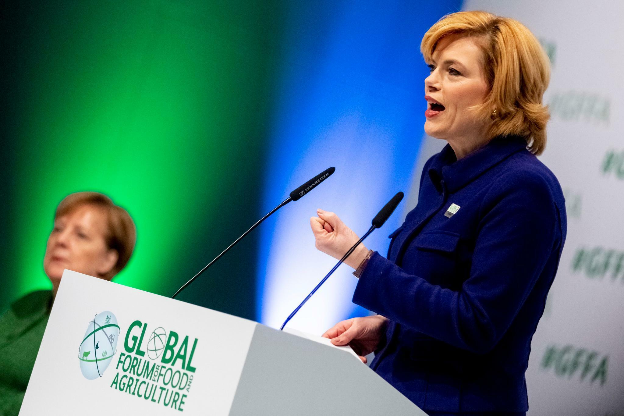 Julia Klöckner gene editing
